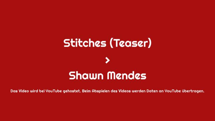 Stitches Videothumbnail
